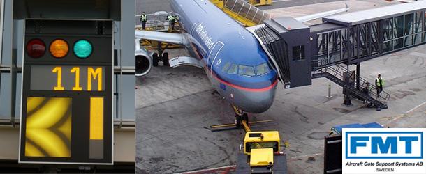 89:飞机停靠与登机空桥的精准定位